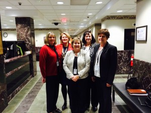 PHENSA Members at the State Board of Nursing Meeting, 2015